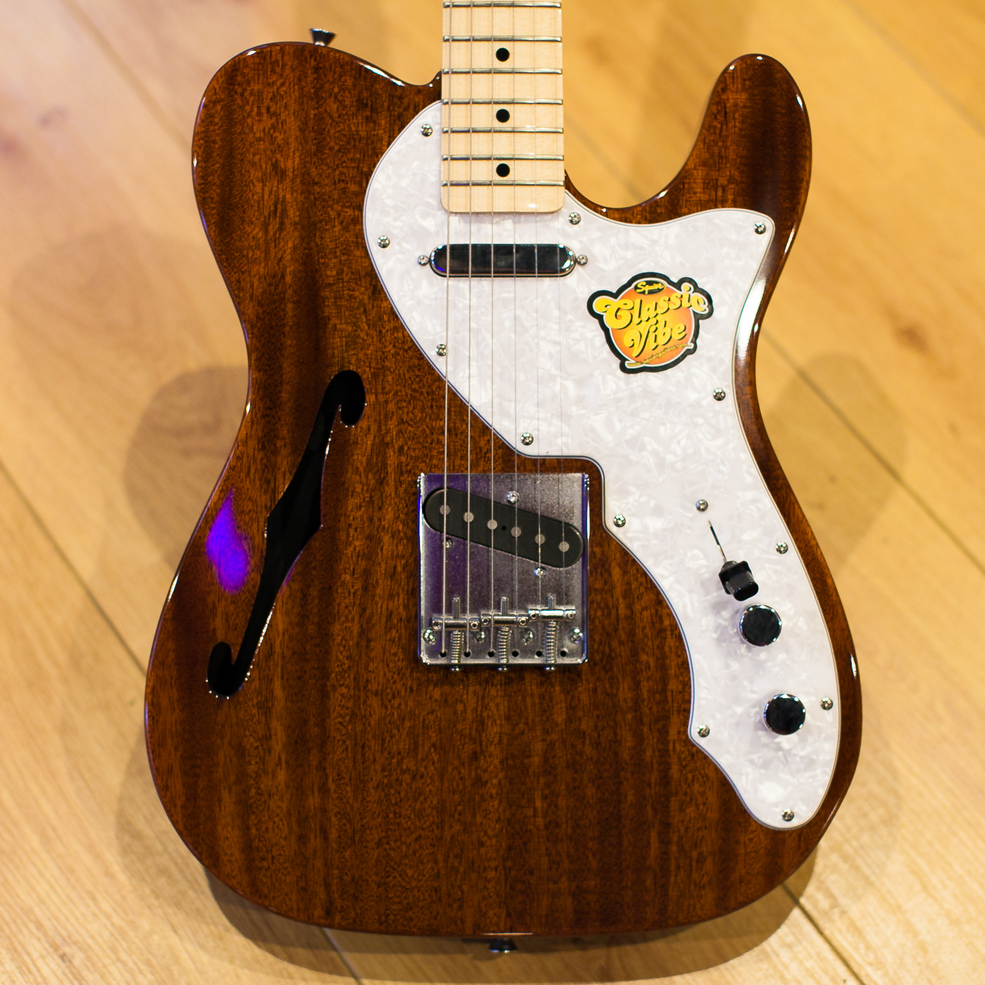 Squier Classic Vibe Telecaster Thinline Natural MN