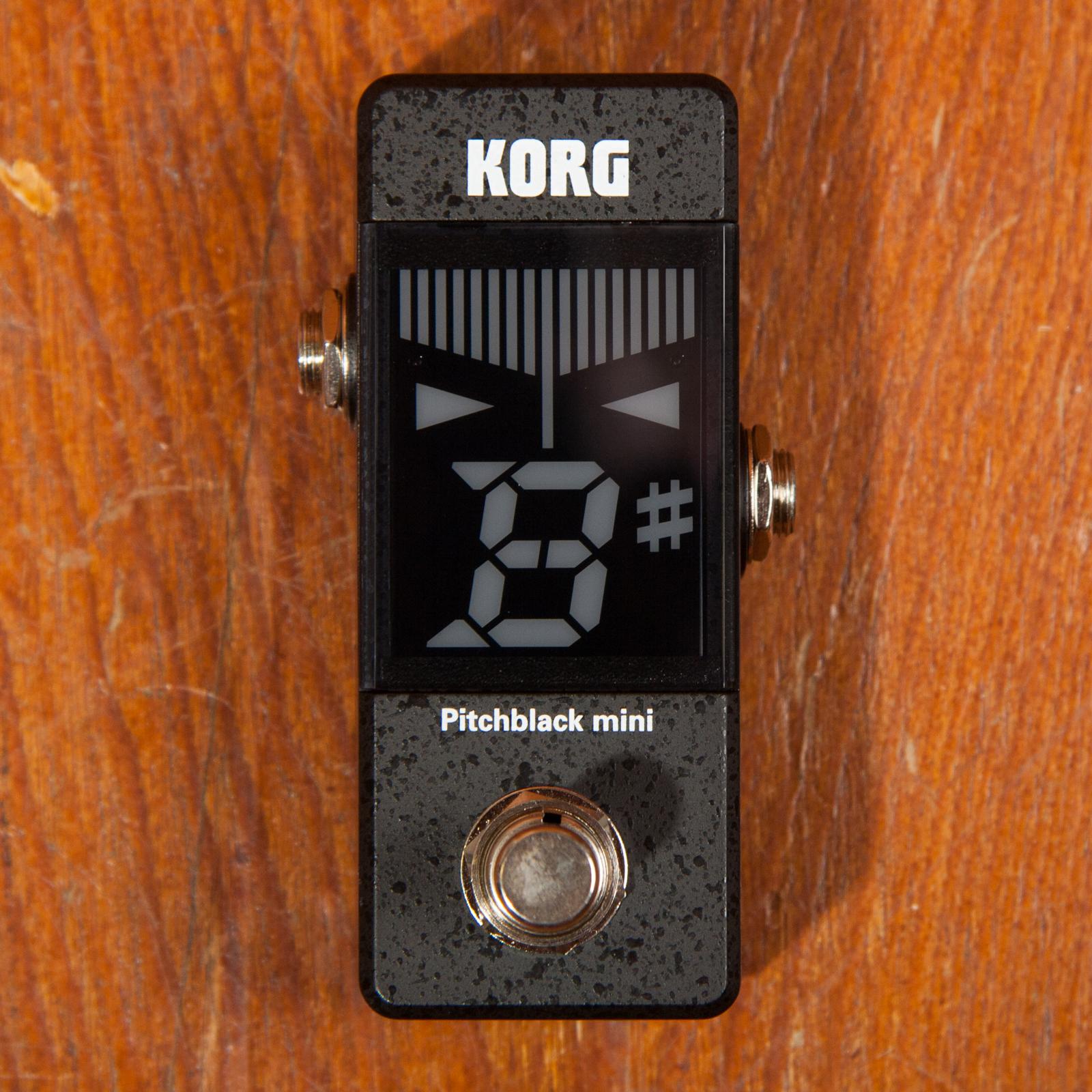 Korg PB-MINI Pitchblack Mini pedal tuner
