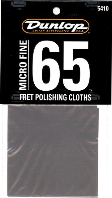 Dunlop 5410 Micro Fine 65 Fret Polishing Cloth (2 stuks)