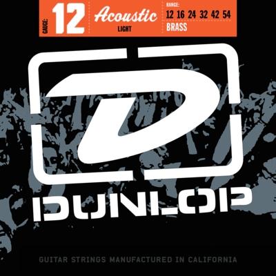 Dunlop DAB1254 snarenset voor akoestische western gitaar