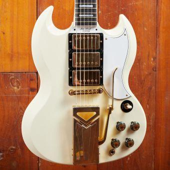 Gibson CS 1961 Les Paul SG Custom, Classic White, VOS NH