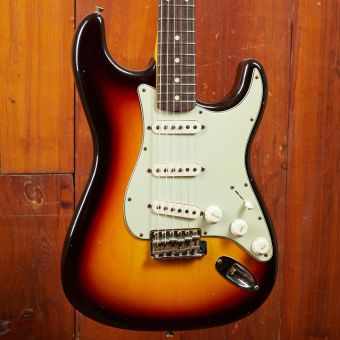 Fender CS 1960 Stratocaster, Journeyman Relic, Chocolate 3-Tone-Sunburst
