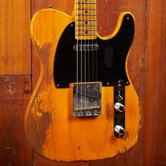 Fender CS 52 Tele LTD Butterscotch Blonde