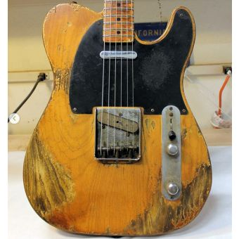 ART-18837 - Fender CS 1952 Telecaster Kyle McMillin Masterbuilt FUBAR