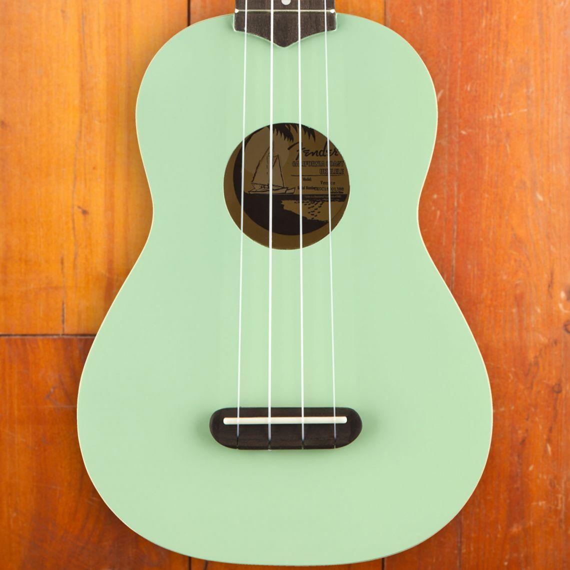 Fender Venice Soprano Ukulele Surf Green