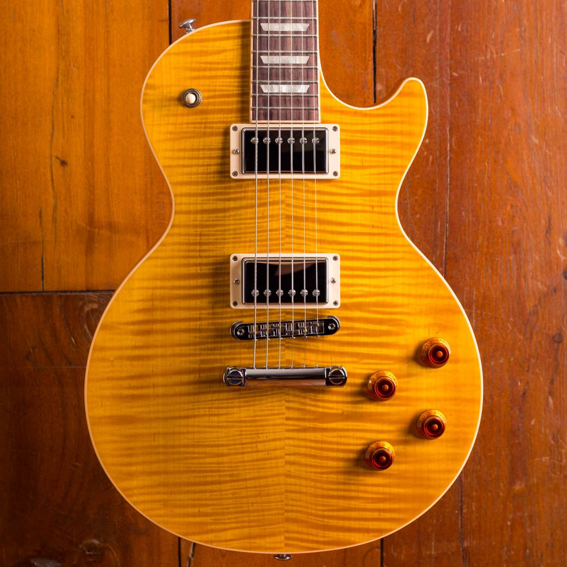 Gibson Les Paul Standard 60's neck AAA flamed top
