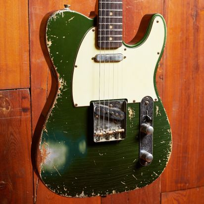 Maxwell 'The Plank'- Heavy Aged Forest Green Finish