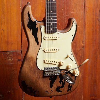 Maxwell 'The Axe'- Heavy Aged in Stripped Black Finish