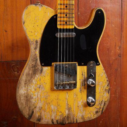 "Fender CS 52 Tele LTD ""FUBAR"" Butterscotch Blonde"