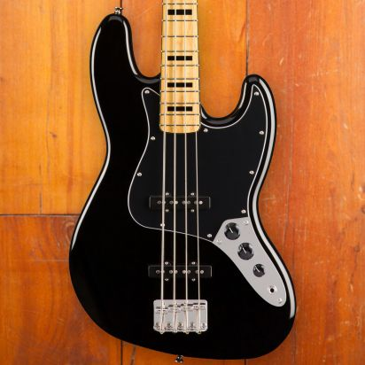 Squier Classic Vibe 1970s Jazz Bass Maple Neck Black