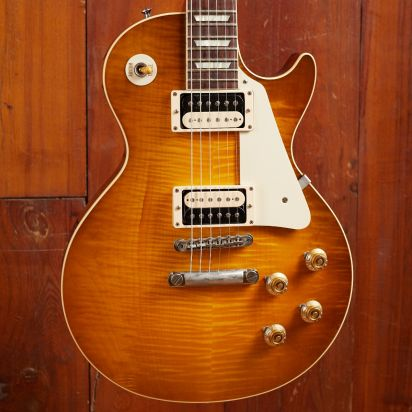Gibson CS 1958 Les Paul Flame Top Golden Poppy M2M
