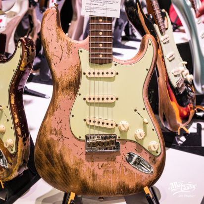 Fender CS 1960/1953 Stratocaster, Dirty Shell Pink, Super Heavy Relic