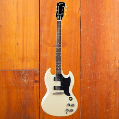 Gibson CS 1963 SG Special Reissue, Classic White, Murphy Lab Ultra Light Aged