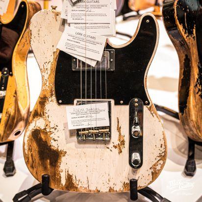 Fender CS 1951 Telecaster, Aged White Blonde, Super Heavy Relic