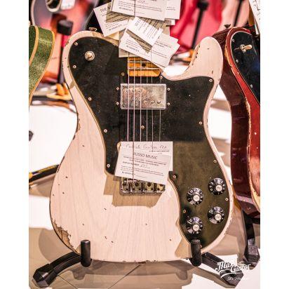 Fender CS 1972 Telecaster Custom, Aged White Blonde, Journeyman Relic