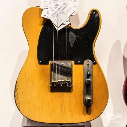 Fender CS 1953 Esquire, Smoked Nocaster Blonde, Heavy Relic