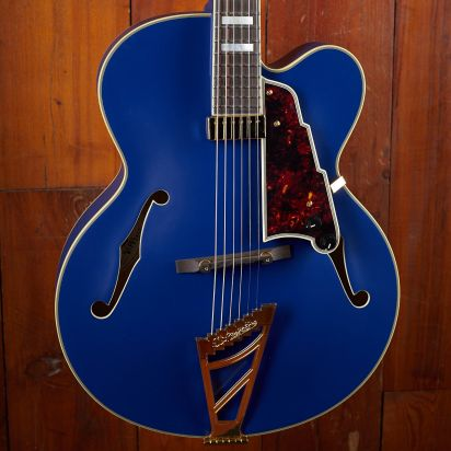D'Angelico DELUXE EXL-1- Matte Royal Blue