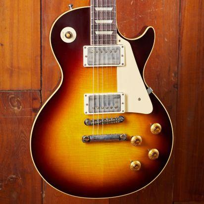 Gibson CS 1958 Les Paul Standard Reissue, Bourbon Burst, Murphy Lab Ultra Light Aged