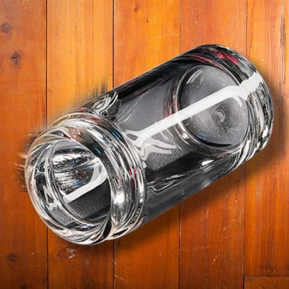 Dunlop Blues Bottle Slide Clear Medium