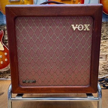 Vox AC-15 50th Anniversary Hardwood Mahogany