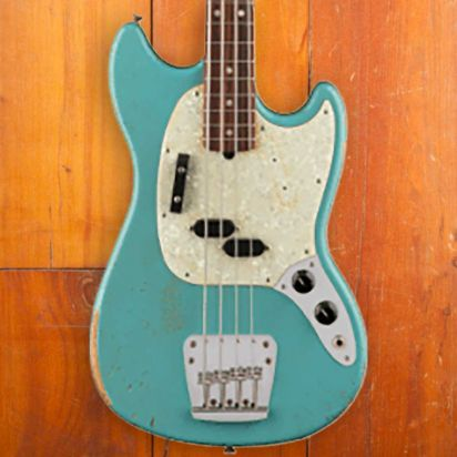 Fender Justin Meldal-Johnsen Signature Mustang Bass