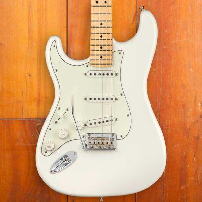 Fender Player Stratocaster Lefthanded Maple Neck Polar White