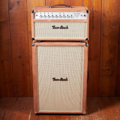 Two-Rock Bloomfield Drive 100/50 w Head + 212 Tobacco Suede