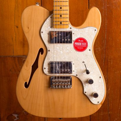 Squier Classic Vibe 1970s Telecaster Thinline Maple Neck Natural
