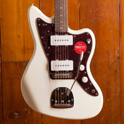 Squier Classic Vibe 1960s Jazzmaster, Laurel Fingerboard, Olympic White
