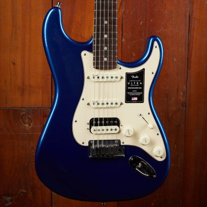 Fender American Ultra Stratocaster HSS Rosewood Cobalt