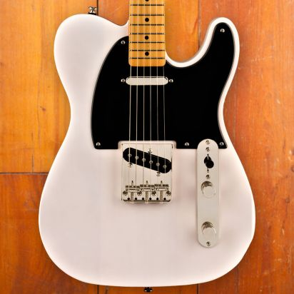 Squier Classic Vibe 1950s Telecaster, Maple Neck, White Blond