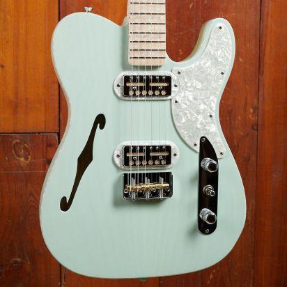 Fender Tele Magico Seafoam Green Transparant