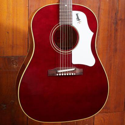Gibson 60's J-45 Original Adjustable Saddle Wine Red