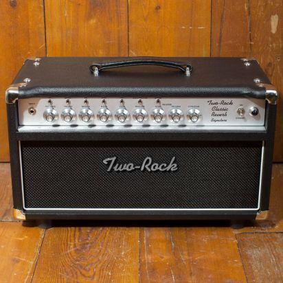 Two-Rock Classic Reverb Signature 100/50 Watt Head, Silver Knob