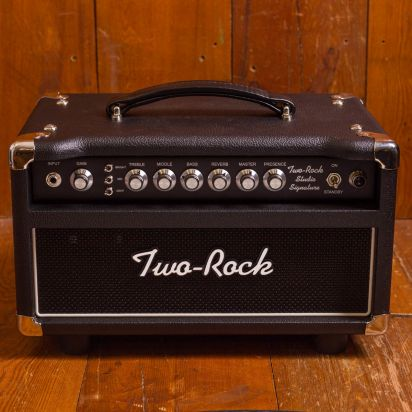 Two-Rock Studio Signature 35W H Silver Knob Black Chassis
