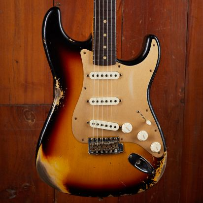 Fender CS 1960 Strat Heavy Relic 3 Tone Sunburst