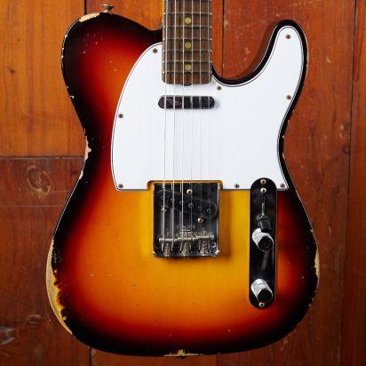 Fender CS 1967 Telecaster, Rosewood, Chocolate Sunburst