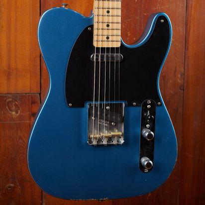 Fender Vintera Road Worn 1950s Telecaster Maple Fingerboard Lake Placid Blue