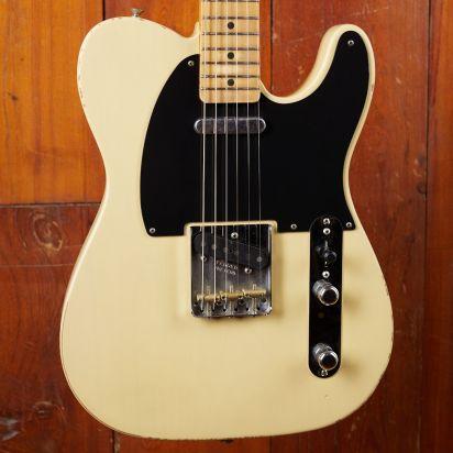 Fender Vintera Road Worn 1950s Telecaster Maple Fingerboard Vintage Blond