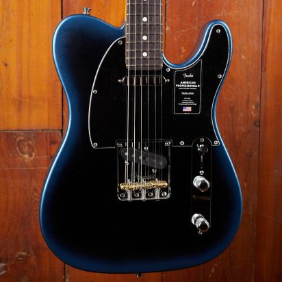 Fender American Professional II Telecaster, Rosewood, Dark Night