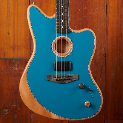 Fender Acoustasonic Jazzmaster Ocean Turquoise