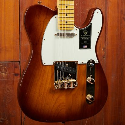Fender 75th Anniversary Commemorative Telecaster MN 2-Color Bourbon Burst
