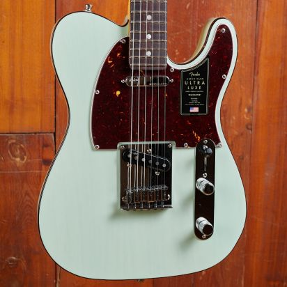 Fender Ultra Luxe Telecaster Transparent Surf Green