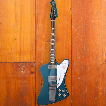 Gibson CS 1963 Firebird V w/ Maestro Vibrola, Pelham Blue, Murphy Lab Ultra Light Aged