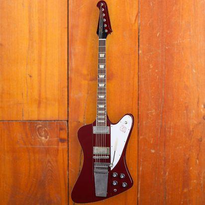 Gibson CS 1963 Firebird V w/ Maestro Vibrola, Ember Red, Murphy Lab Ultra Light Aged