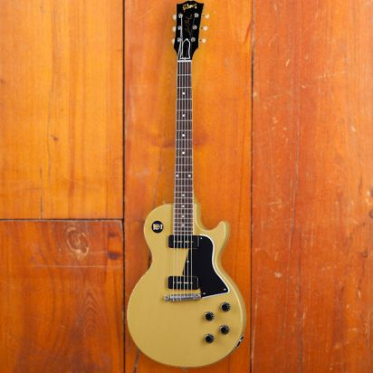 Gibson CS 1957 Les Paul Special Single Cut, TV Yellow, Murphy Lab Ultra Light Aged