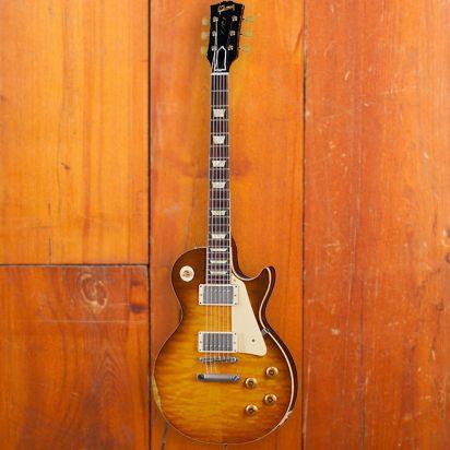 Gibson CS 1959 Les Paul Standard Reissue, Green Lemon Fade, Murphy Lab Heavy Aged