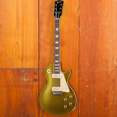 Gibson CS 1954 Les Paul Goldtop Reissue, Double Gold, Murphy Lab Heavy Aged