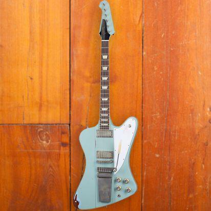 Gibson CS 1963 Firebird V, Antique Frost Blue, Murphy Lab Heavy Aged
