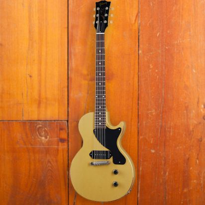 Gibson 1957 Les Paul Junior Single Cut Reissue, TV Yellow, Murphy Lab Heavy Aged